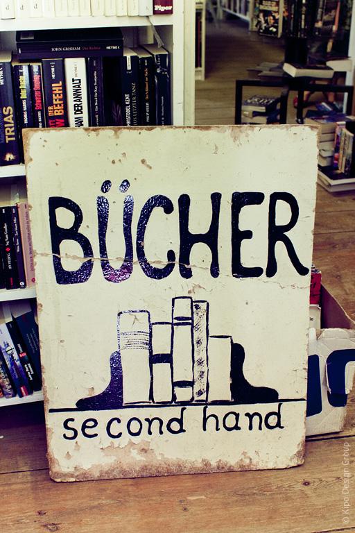Берлин: книжный секонд-хенд